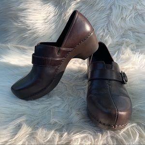 Dansko Tamara Clog Leather EU 39 US 8.5-9 Brown